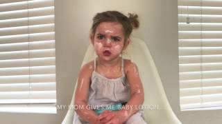 Mila takes skincare very seriously