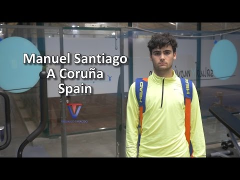 College Tennis Recruitment - Manuel Santiago (Spain) - FALL 2017
