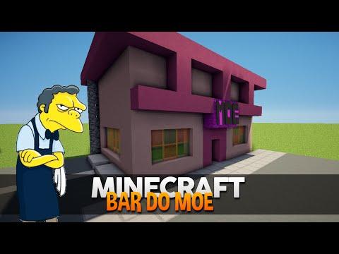Minecraft: Construindo o Bar do Moe (Simpsons)