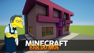 Minecraft: Construindo o Bar do Moe (Simpsons)
