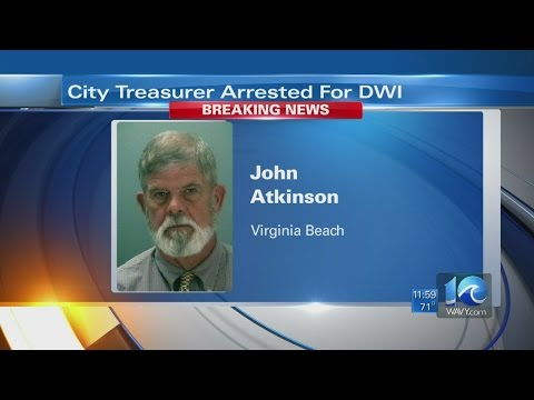 Virginia Beach City treasurer charged with DWI