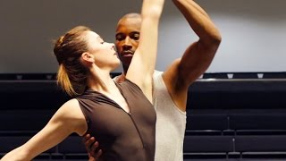 Royal Ballet dancers rehearse Deloitte Ignite dance film