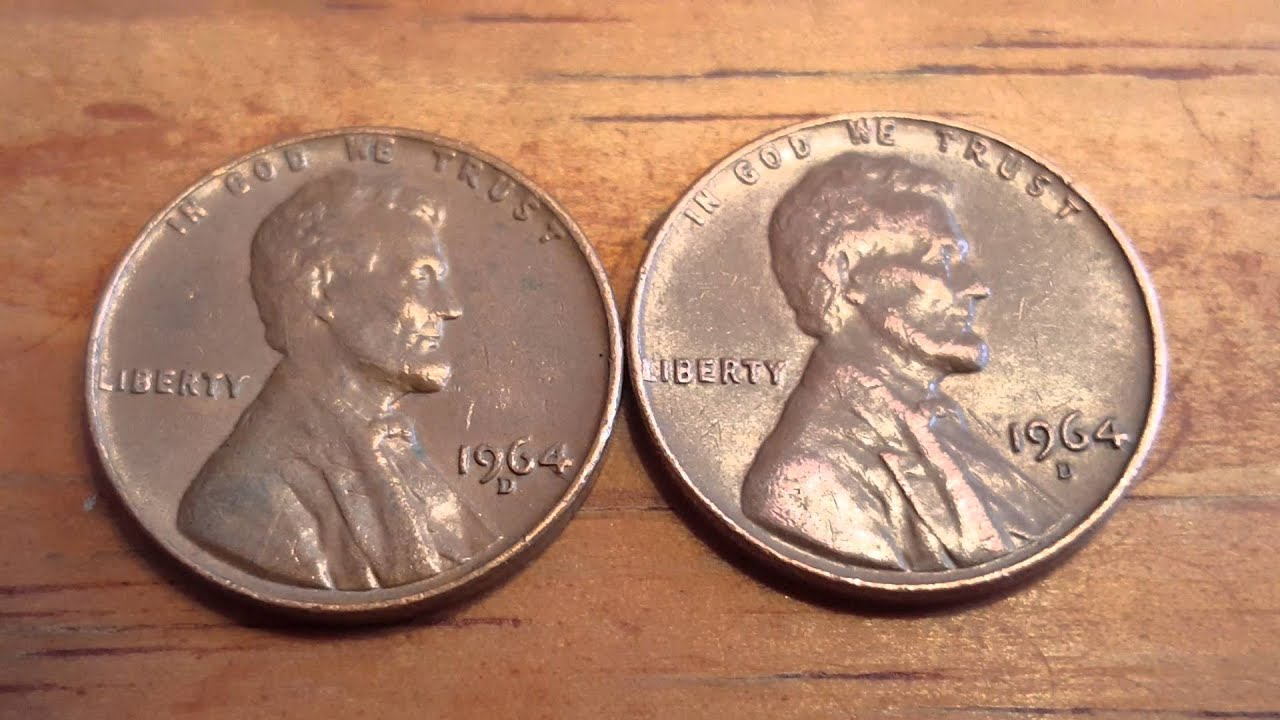 1964 D Coin Us Cent Mint Mark Variation Error Youtube