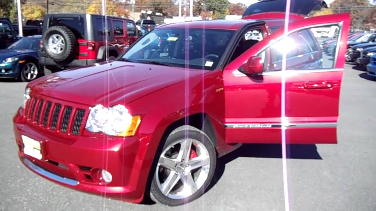 2010 jeep grand cherokee srt 8 for sale only 5 000 miles youtube. Black Bedroom Furniture Sets. Home Design Ideas