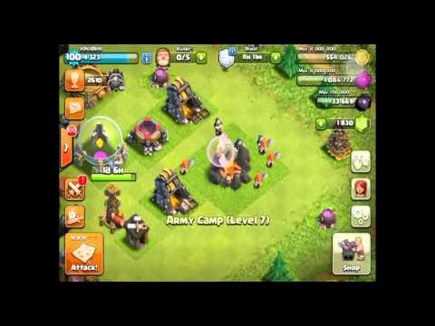 Army Camp Missing Clash Of Clans