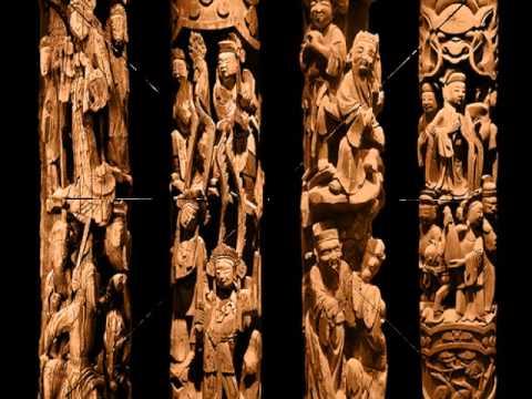 CHINA wood carving art