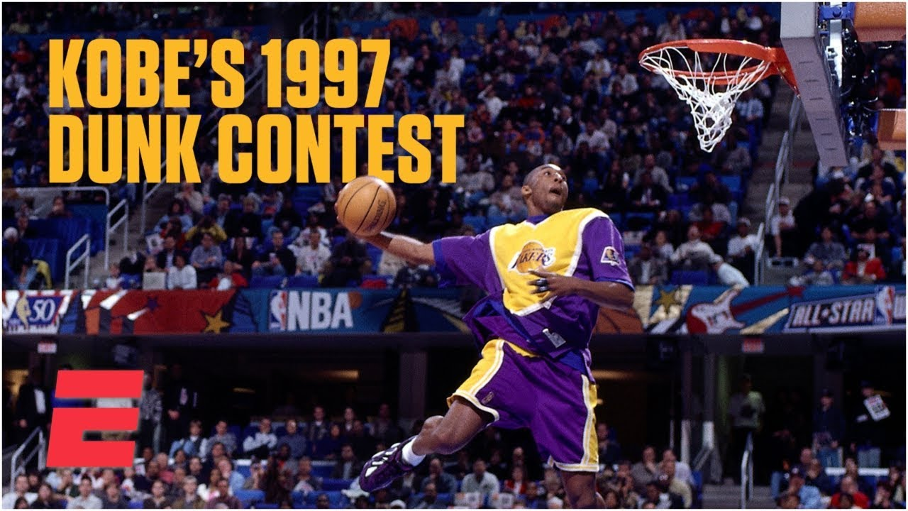 Kobe Bryant wins 1997 NBA Slam Dunk Contest as a rookie | NBA Highlights