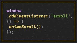 Animar ao Scroll com JavaScript Puro