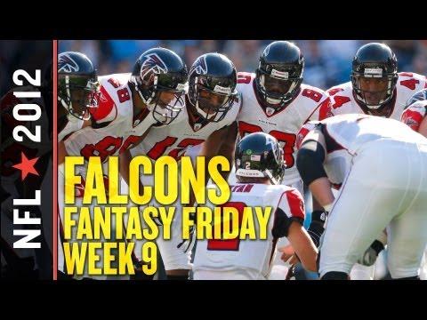 Atlanta Falcons Week 9 Fantasy Football News and Notes