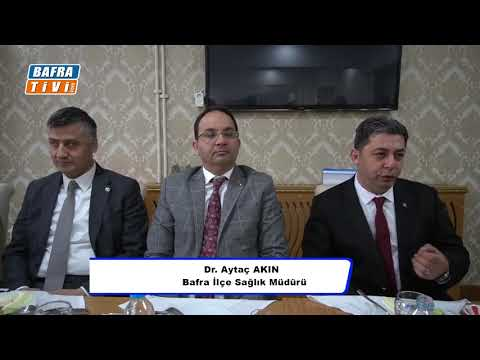 BAFRA'DA ÖNEMLİ CORONA VİRÜSÜ TOPLANTISI