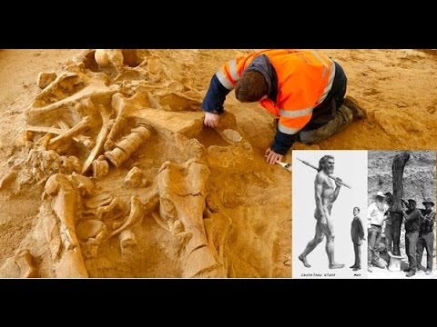 5 meter tall human skeleton unearthed in australia - youtube, Skeleton