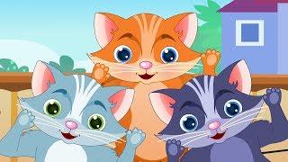 Nursery Rhymes From Oh My Genius - Three Little Kittens nursery rhyme