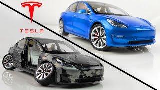 Restoration Damaged Tesla Model 3 Model Car in 10 Minutes
