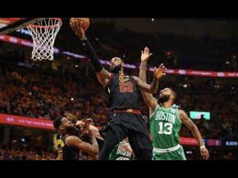 Cleveland cavaliers vs Boston Celtics Game 7 best shots