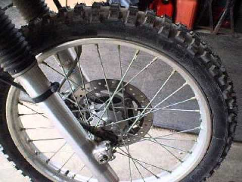 CRF250L dual purpose Michelin T63 rear tire. This has been awesome ...