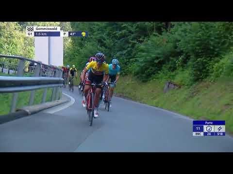 Richie Porte's show of strength at Tour de Suisse