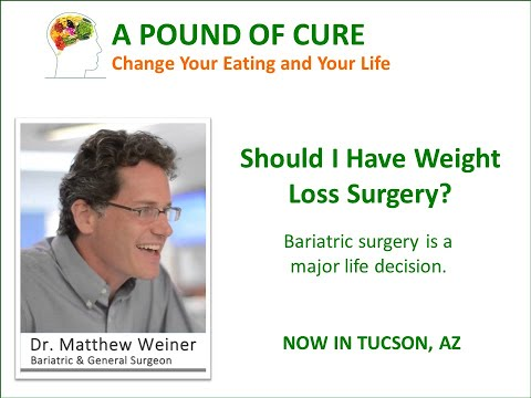 Should I have weight loss surgery?