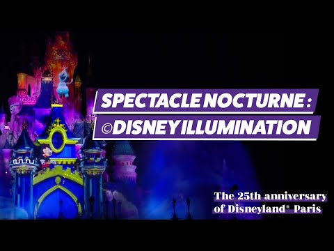 [REPLAY] L'éblouissant spectacle nocturne Disney Illuminations