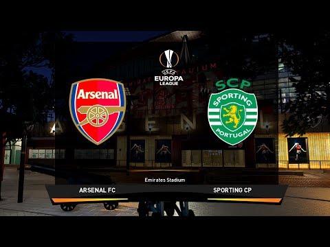 Arsenal vs Sporting Lisbon | Europa League 8 November 2018 Gameplay