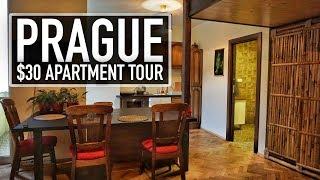 Gambar cover BEAUTIFUL $30 PRAGUE AIRBNB APARTMENT TOUR!! | Prague On A Budget Travel Guide