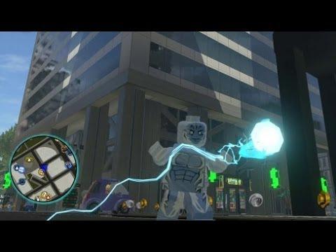 marvel lego electro