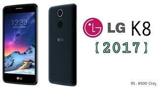 LG K8 (2017) full Review