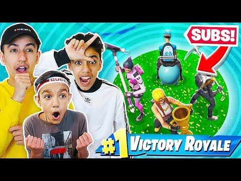 Fortnite Zone Wars Battle Against Brothers And Subscribers!
