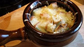 Как вкусно приготовить Французский луковый суп