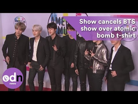 Japanese TV cancels BTS show over atomic bomb t-shirt Mp3