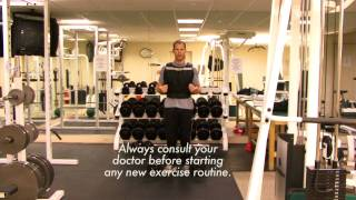 Weighted vest Advanced Full Body Workout with Broc Jackson