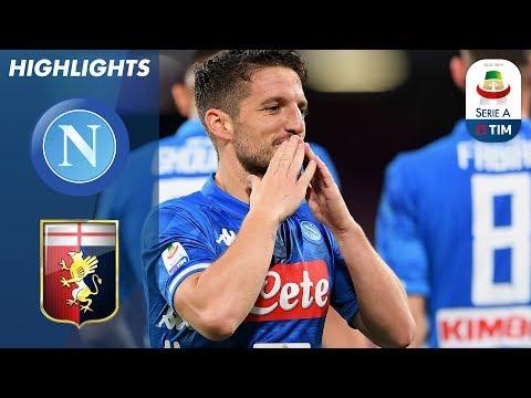 Napoli 1-1 Genoa | Frustrated Napoli Fail to Beat 10-Man Genoa | Serie A