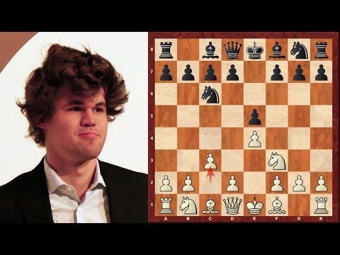 Amazing Chess Game : Magnus Carlsen vs Pentala Harikrishna - Tata Steel (2013) - Ponziani Opening