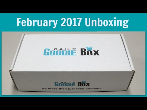 Daily Goodie Box Unboxing - February 2017!