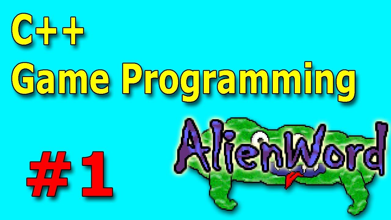 C++ Game Development: AlienWord