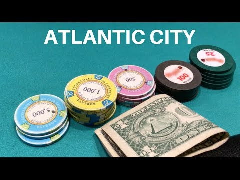 Unfinished Business In Atlantic City - Poker Vlog #62