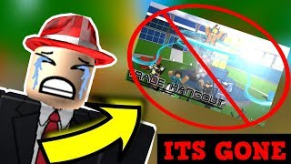 END OF TRADE HANGOUT? ROBLOX BANS BC GAMES!!