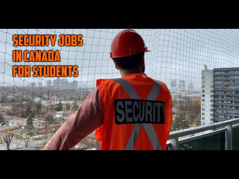 SECURITY JOBS IN CANADA | HOW TO GET SECURITY LICENSE