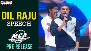 Dil Raju Speech @ MCA Pre Release Event || Nani, Sai Pallavi || DSP || Sriram Venu