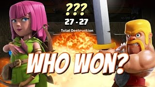 Clash Of Clans | EPIC CLAN WAR! WHO WON? GoWiWiPe Attack GoWiWi Attack Strategy