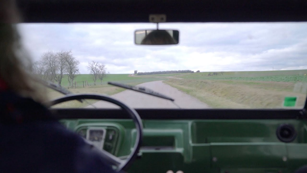 A ride in Citroën Mehari 1976