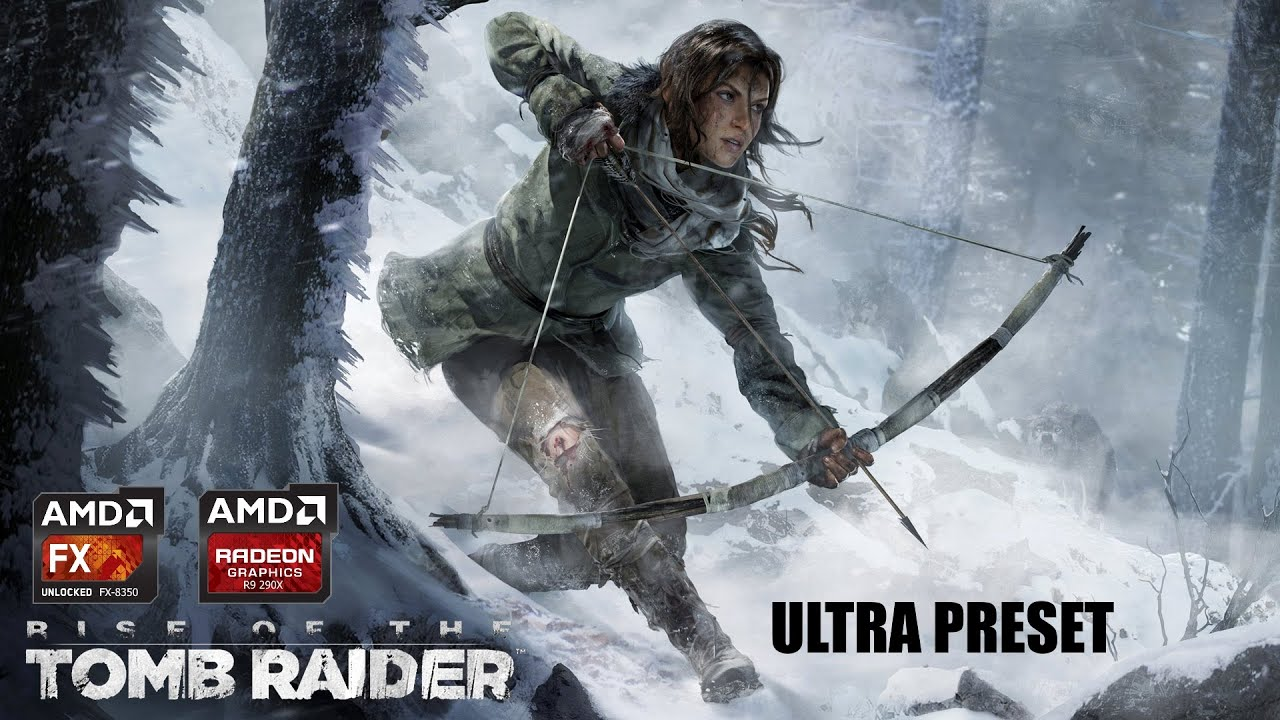 Rise The Tomb Raider FX 8350 4 7Ghz