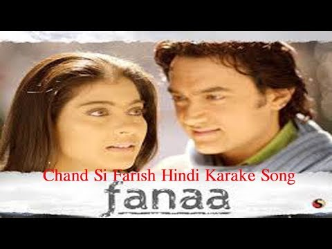 Chand Sifarish Hindi Karaoke Song With Hindi Lyrics II FANAA