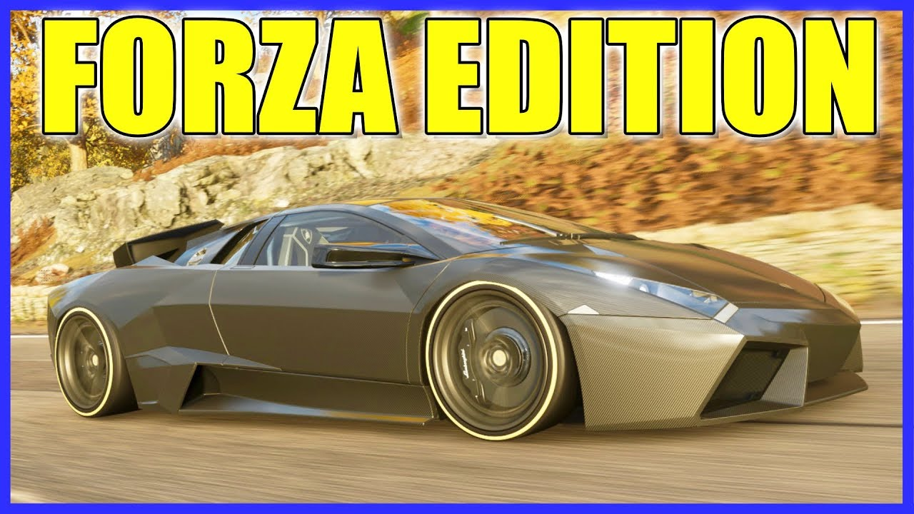 Forza Horizon 4 Lamborghini Reventon Forza Edition Gameplay