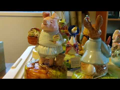 Beatrix Potter musical figurines