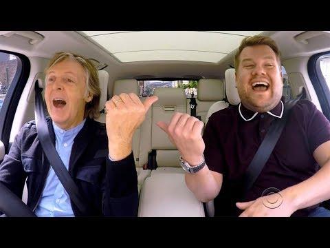 Paul Mccartney James Corden S Carpool Karaoke Goes To Primetime Tv