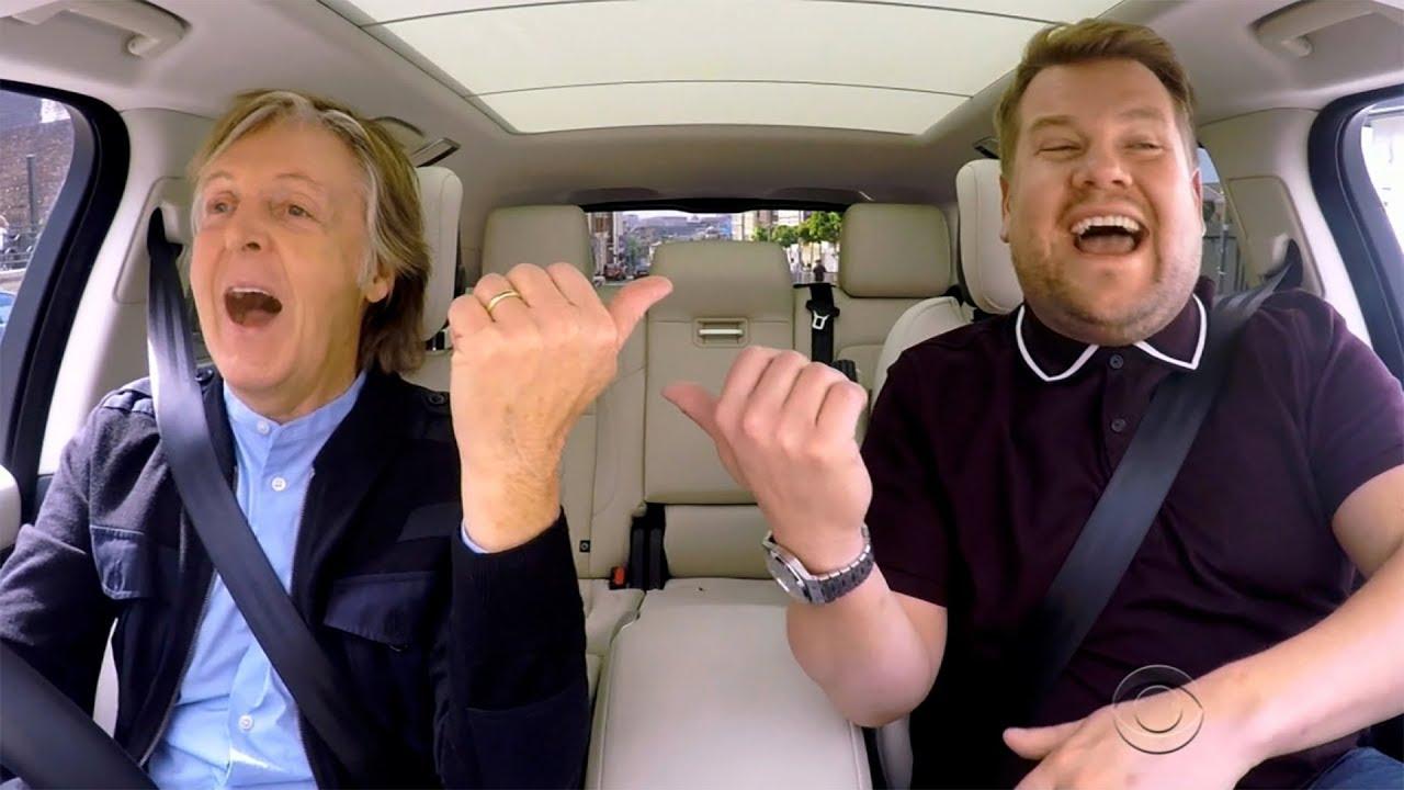 Paul Mccartney James Corden S Carpool Karaoke Goes To Primetime Tv More Stories Trending Now