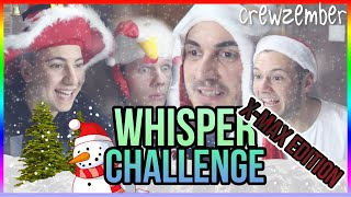 LUSTIGE WHISPER CHALLENGE | WEIHNACHTS-EDITION | Crewzember