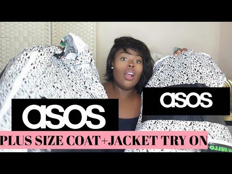 ASOS COAT AND JACKET PLUS SIZE | TRY ON HAUL