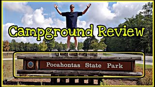 Campground Review: Pocahontas Stąte Park In Chesterfield Virginia (RV Life)