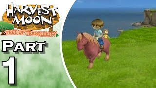 Let's Play Harvest Moon: Tree of Tranquility (Gameplay + Walkthrough) Part 1